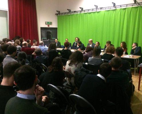 Dibattito elettorale a Londra
