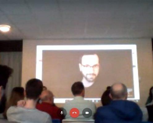 Videoconferenza elettorale con Eindhoven, Paesi Bassi