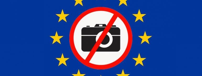 EU GDPR e fotografia di strada