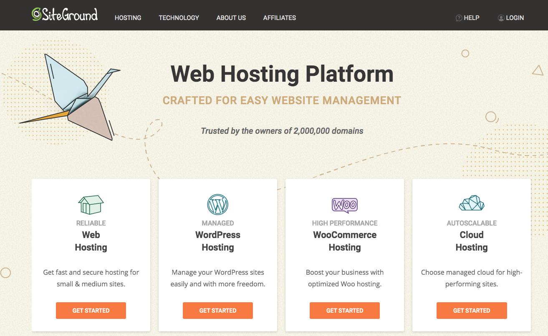 Siteground Miglior Hosting